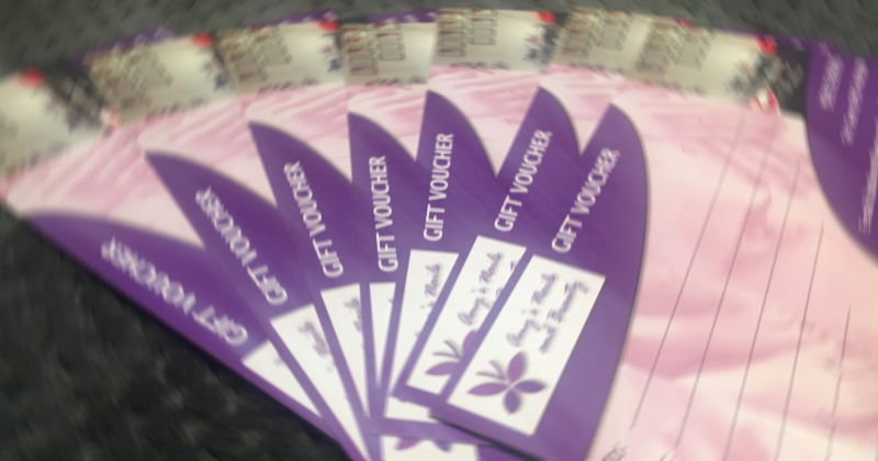 Salon Gift Vouchers available at Amy's Nails and Beauty!